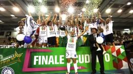 Finale Scudetto Gara 3 - Ternana vs Olimpus Roma 2-3 - Campioni d'Italia 2016/2017